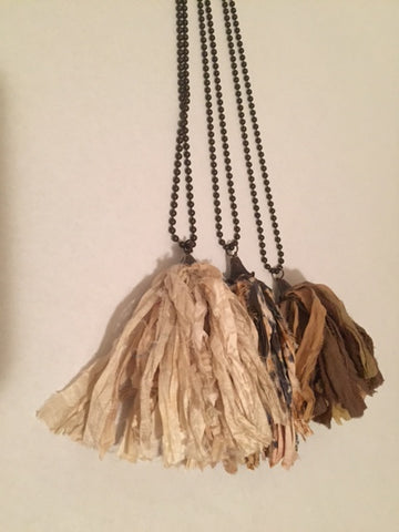 Tassel Necklace - Sweet as Jelly