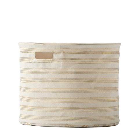 Gold Striped Drum (Medium) - Sweet as Jelly