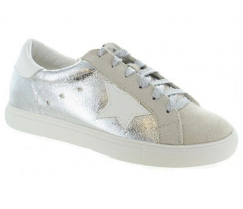 Silver star sneakers - Sweet as Jelly