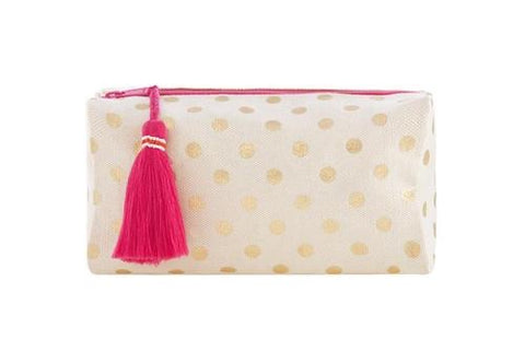 Dottie cosmetic bag with tassel - Sweet as Jelly