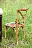 Wooden Cross Back Chair - Sweet as Jelly