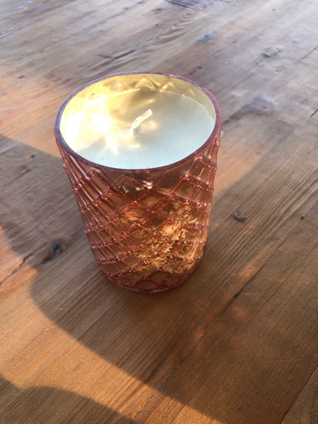 Mame Soy Candle - Rose Gold Sandlewood - Large