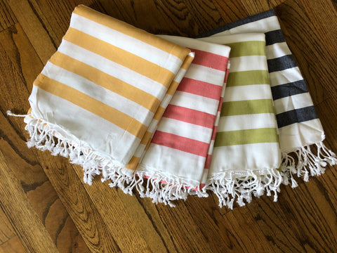 Turkish beach towels - Sweet as Jelly