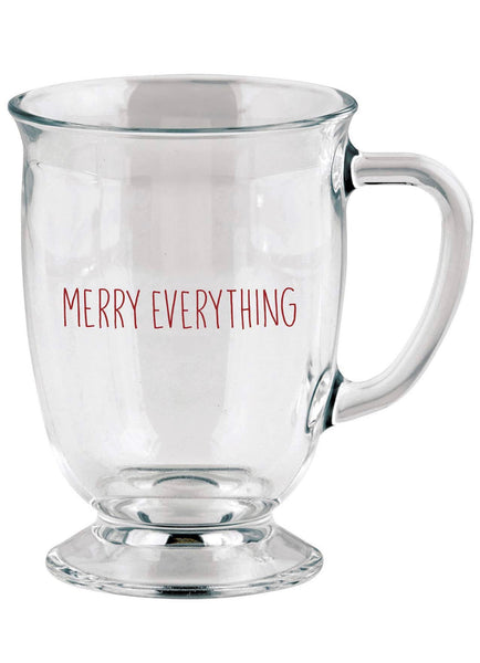 Merry Everything Glass Mug
