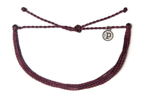Pura Vida originals burgundy bracelet - Sweet as Jelly