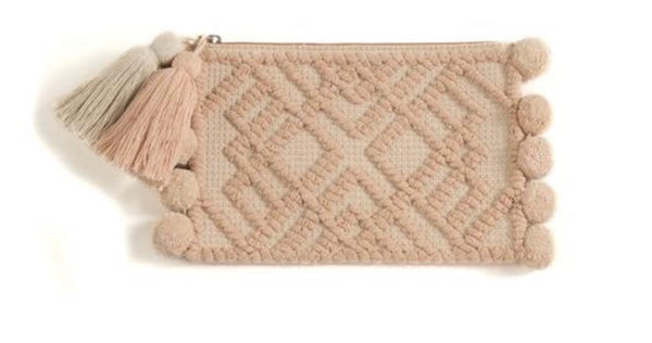 Willa Zip Pouch Clutch - Sweet as Jelly