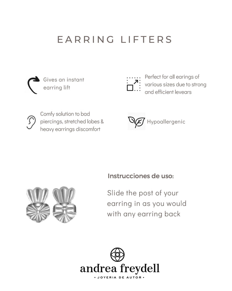EARRING BACKS-LIFTERS/ MARIPOSAS CON SOPORTE