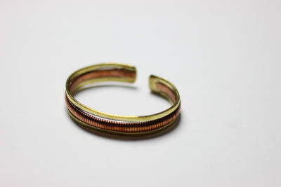 African Medium Brass/Copper  Adjustable bracelet - Africas Closet