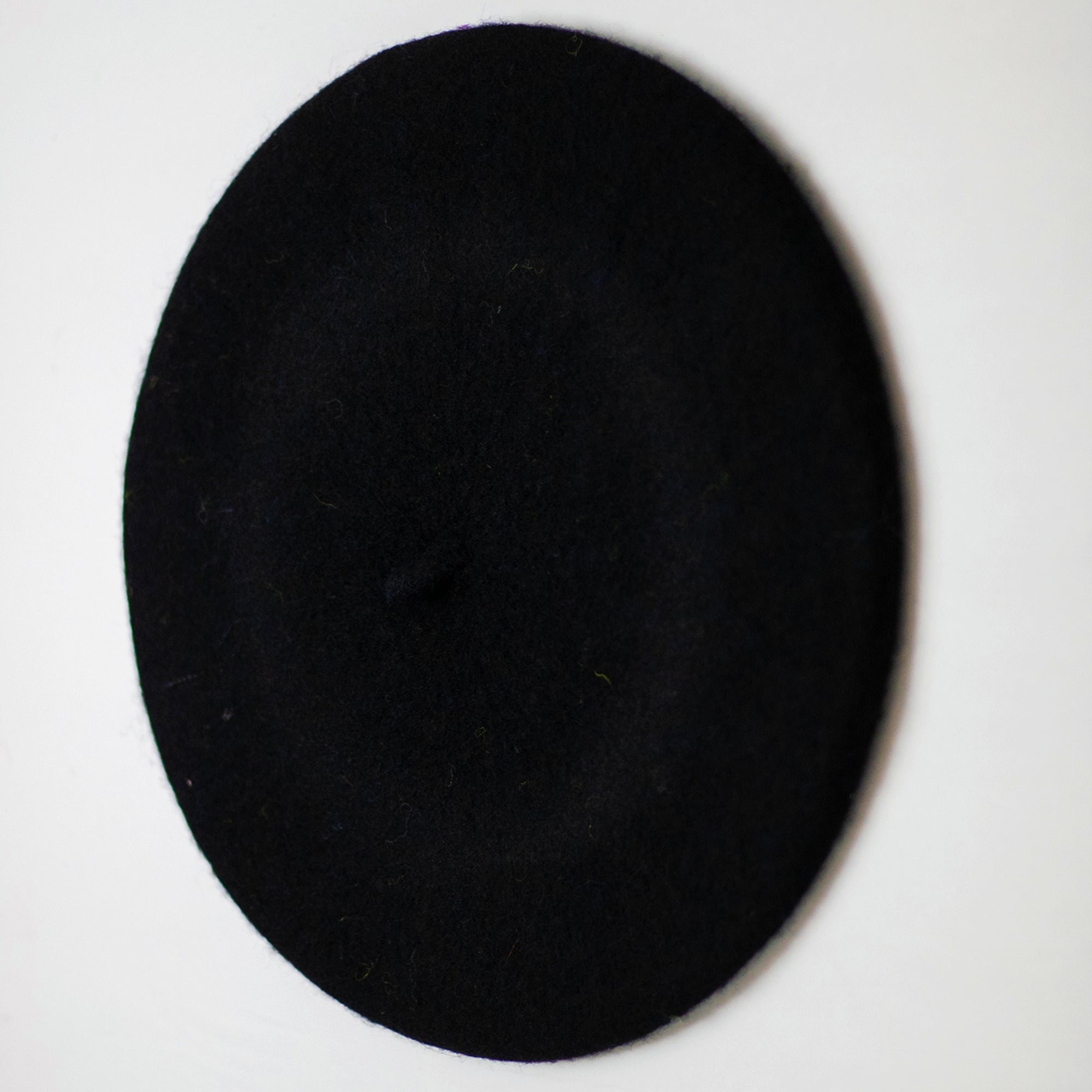 BLACK BERET CAP / HAT