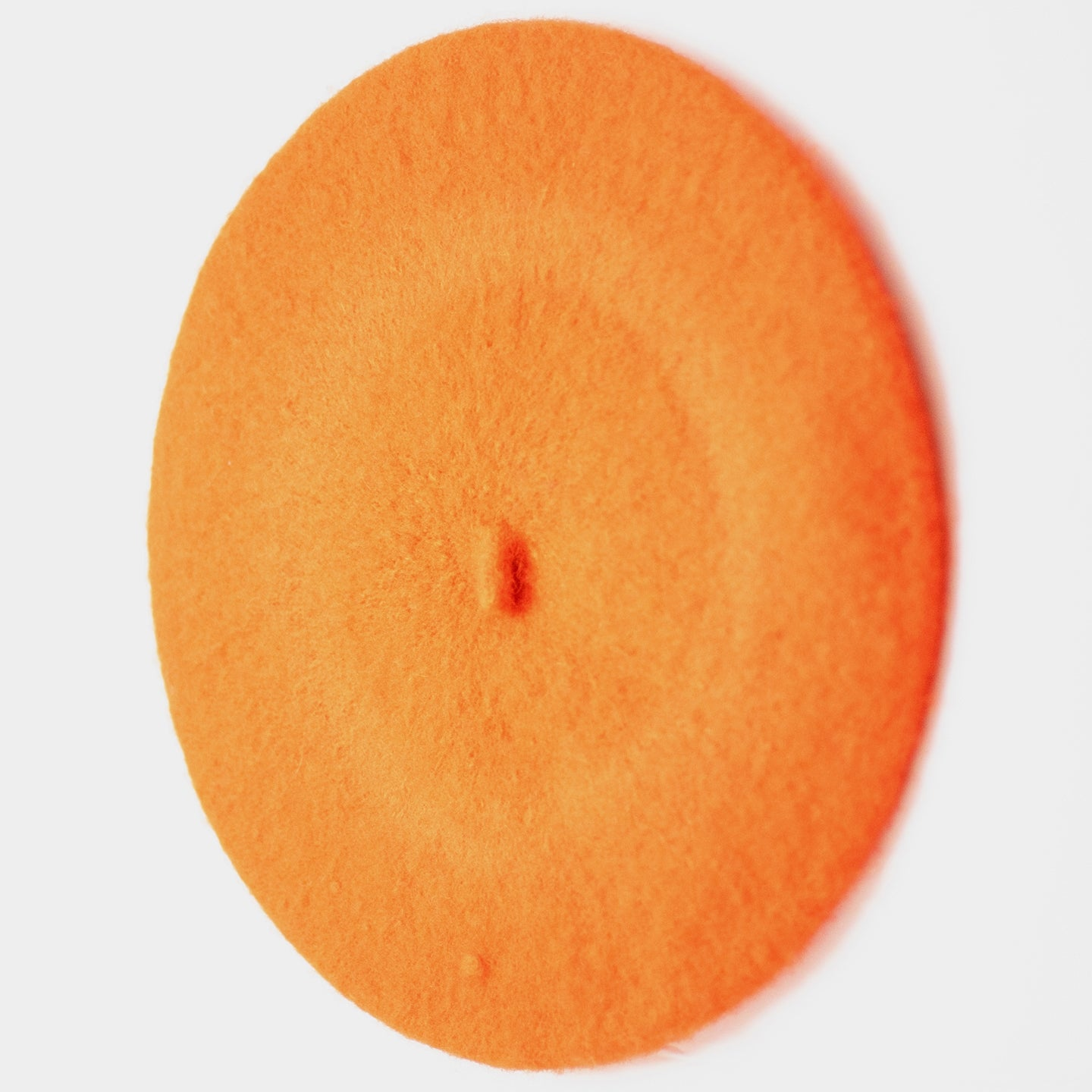 ORANGE BERET CAP / HAT