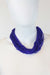 African Maasai Beaded Necklace-Royal Blue - Africas Closet