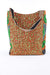 African Print Shopper Bag- Red/Green Floral - Africas Closet
