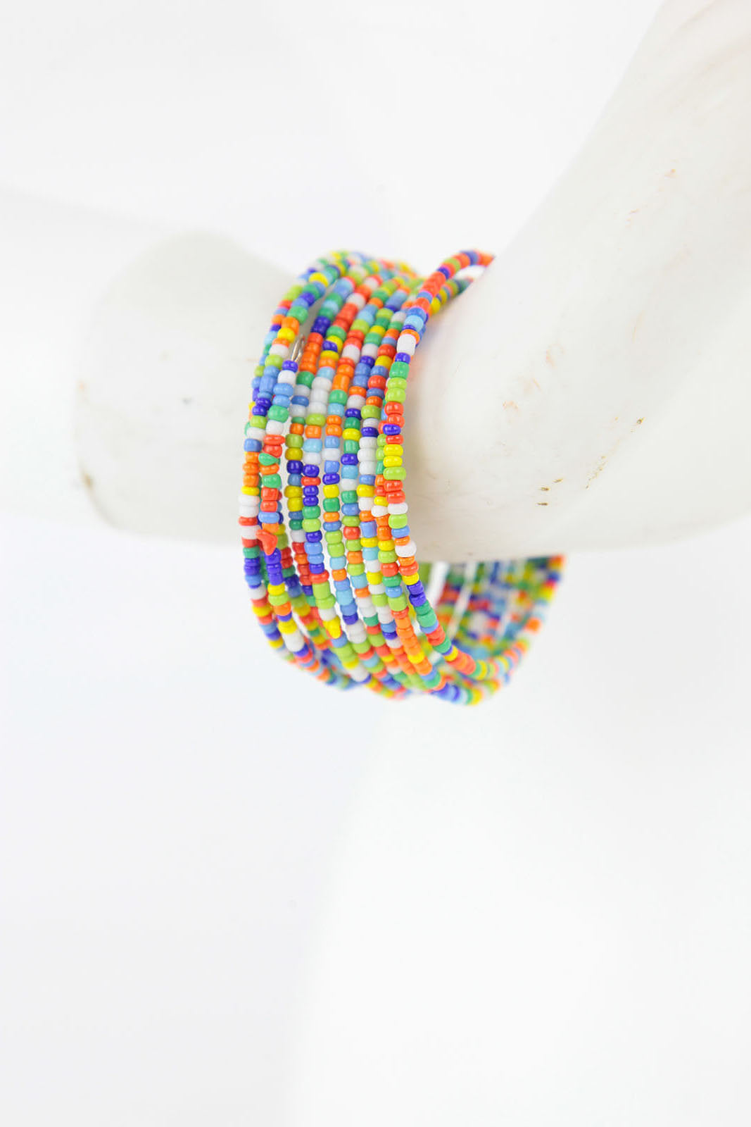 African Maasai Beaded Bracelet-Multi Colored - Africas Closet