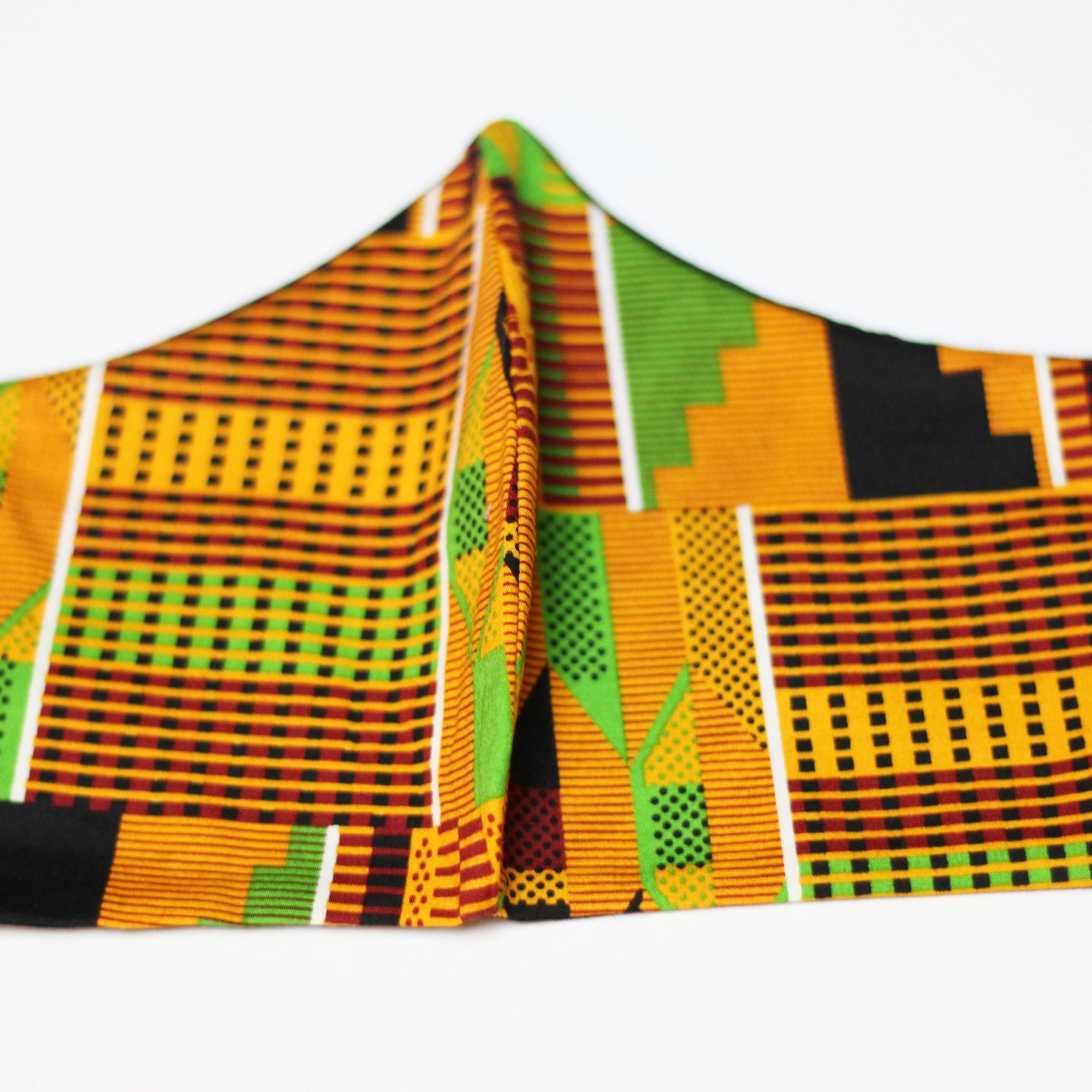 African Print Face Mask - Kente Tribal Print