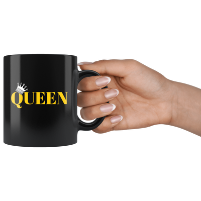 King and Queen Mug His and Hers