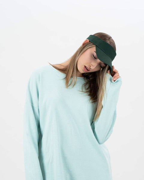 forest organic cotton visor