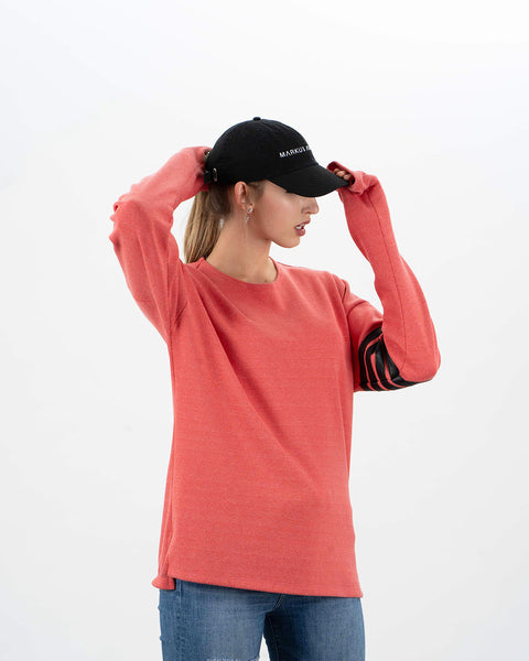 noir organic cotton cap