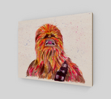 Fan Art Chewbacca  Wood Print