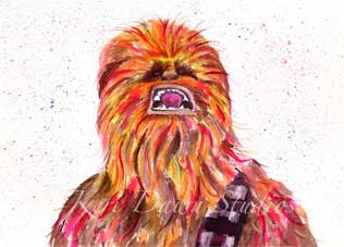 Fan Art Chewie Print