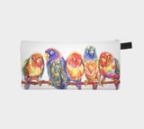 Colourful Birdies Pencil Case
