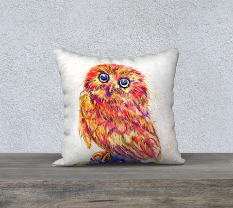Caffeinated Owl Pillowcase
