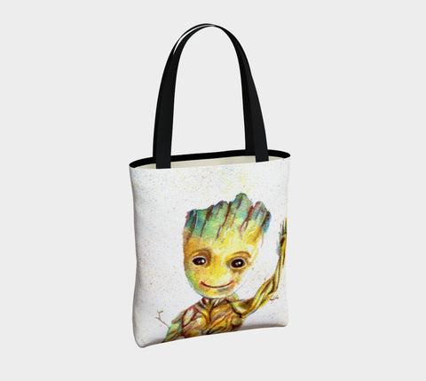 Groot/ Rocket Tote Bag