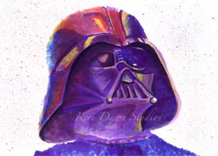 Fan Art Darth Vadar Print