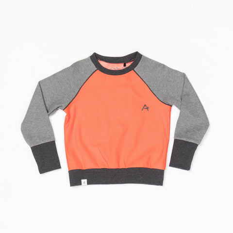 Alba Clinton Sweat Orange com