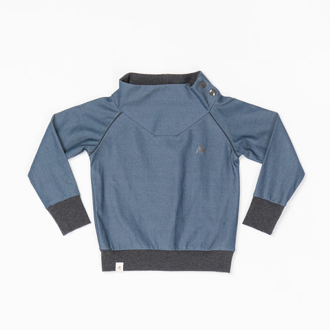 Alba Hollum Sweat Dark Denim