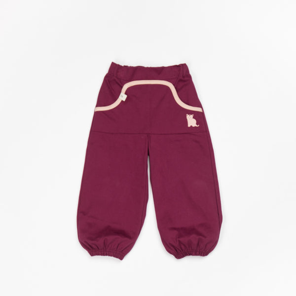 Alba Claire Baggy Pants Purple Potion