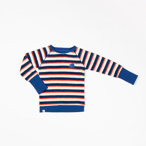 Albababy Henrik Blouse Solidate Blue Striped