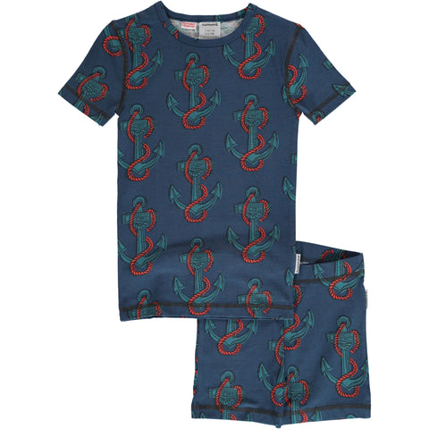 Anchor print Slim fit PJ Set pyjama