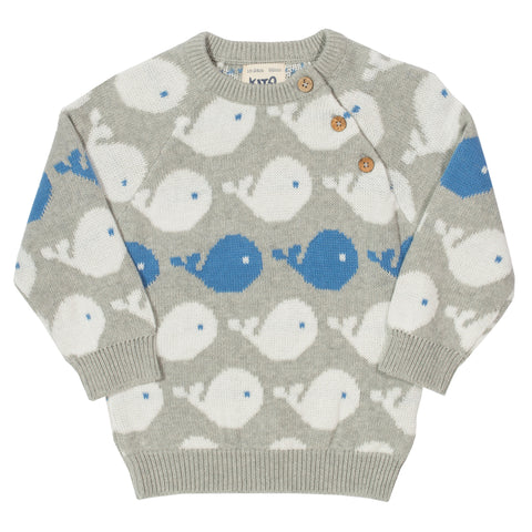 Kite Clothing Organic Whale Knit Jumper