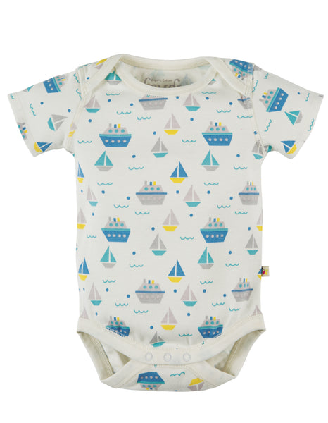 My First Frugi Teeny Body 2pk, Summer Seas Multipack