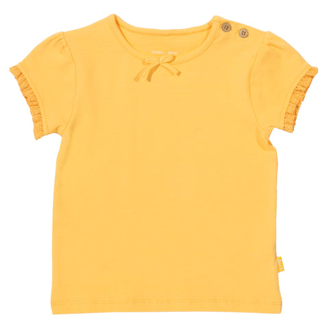 Kite Clothing Organic Mini go to Top Yellow