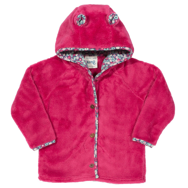 Kite Clothing Bear Fleece Pink