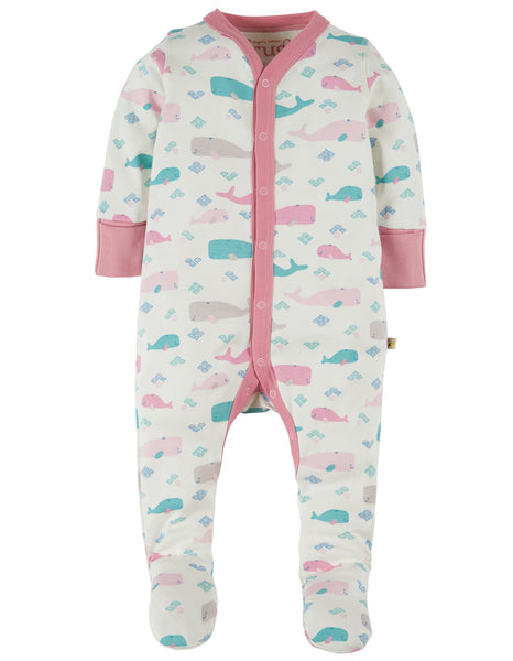 My First Frugi Darling Babygrow, Little Whale