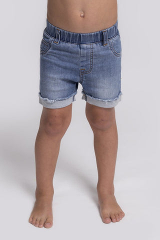 Beau Hudson stylish denim jeg shorts