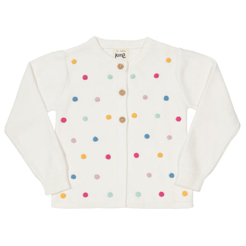 Kite Organic Clothing Dotty Cardi