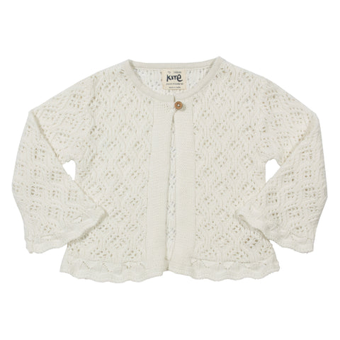 Kite Clothing Organic Lacy Cardi