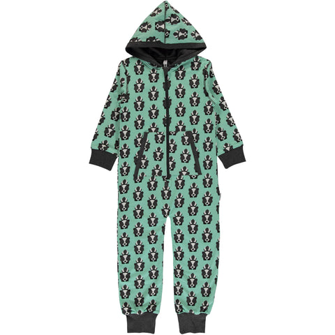 Maxomorra Organic Cotton Skunk print One piece