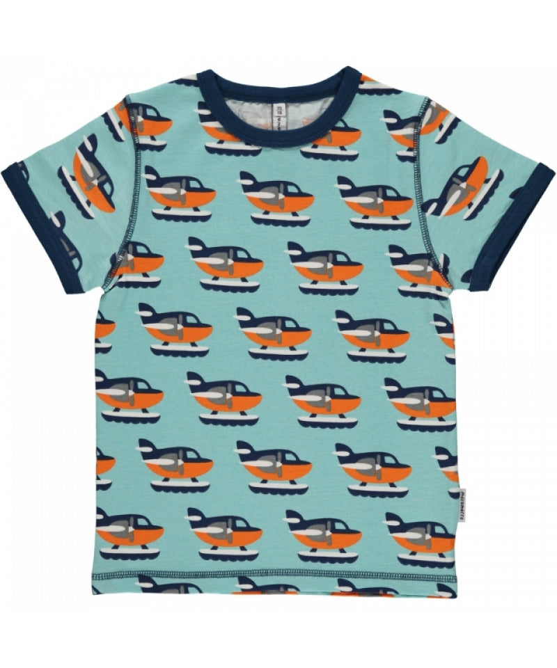 Maxomorra T Shirt Sea Plane