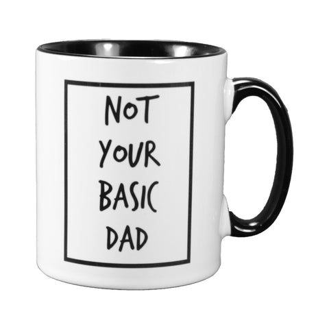 Cribstar Not Your Basic Dad Mug