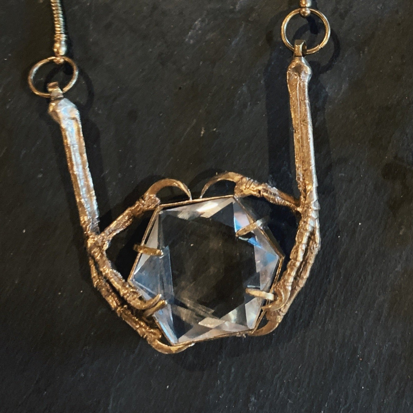 Starling Embrace Pendant