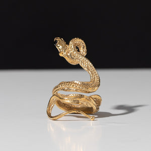 Coiled Serpent Ring