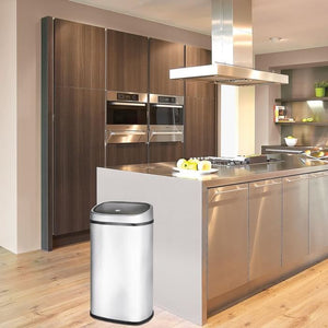 Poubelle 50L One Touch carrée KITCHEN MOVE