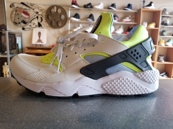 Nike Huarache Run Running White Neon Green teal  318429-107