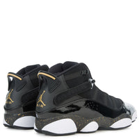 JORDAN 6 RINGS BLACK/ METALLIC GOLD-WHITE 322992-007 ⓗ