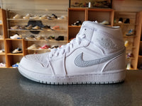 Mens Air Jordan 1 Mid 554724-108