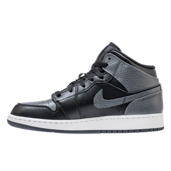 AIR JORDAN 1 MID (GS) SHOE 554725-041